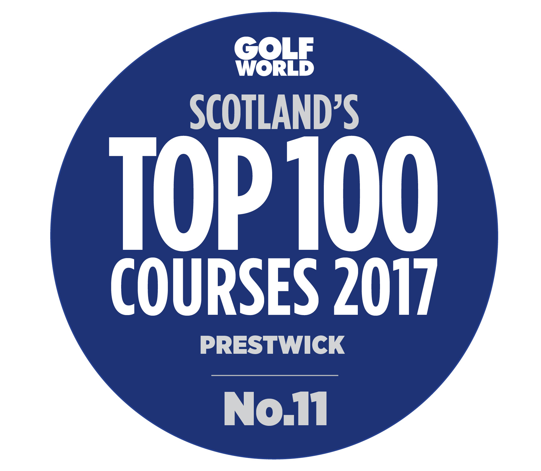Golf World's Top 100 courses in Scotland