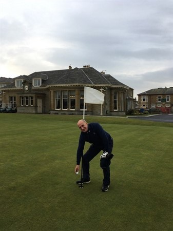 R Laing Hole In One