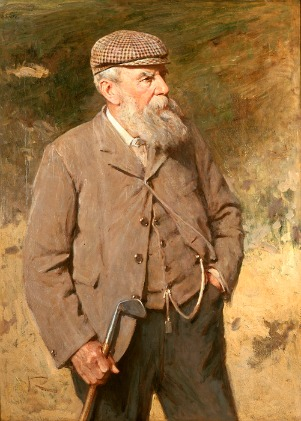 Tom Morris  - by kind permission of the Royal and Ancient Golf Club of St Andrews