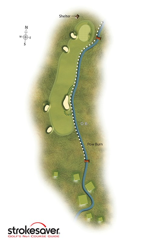 Hole 4 - Bridge, Par 4