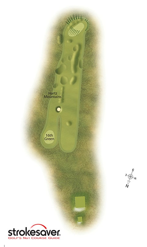 Hole 13 - Sea Headrig, Par 4